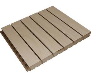 槽孔木质吸音板